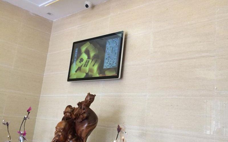 深圳大唐宫液晶广告机安装案例