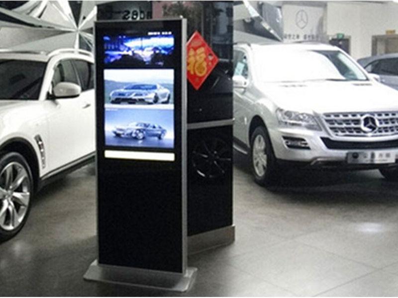 奔驰4S店液晶广告机网络版安装案例
